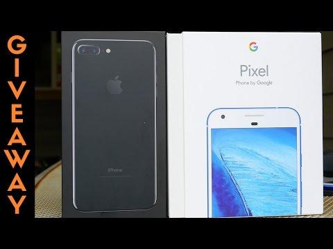 128GB iPhone 7 Plus & Google Pixel XL Giveaway!