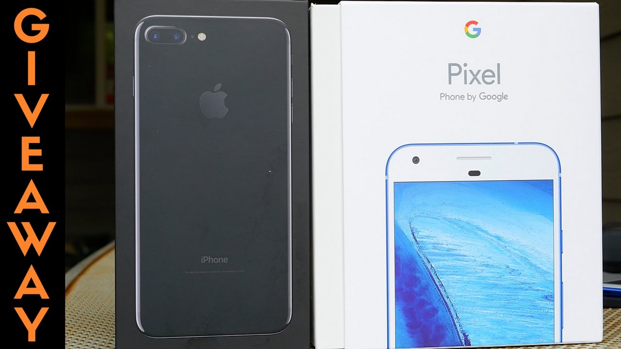 128GB iPhone 7 Plus & Google Pixel XL Giveaway!