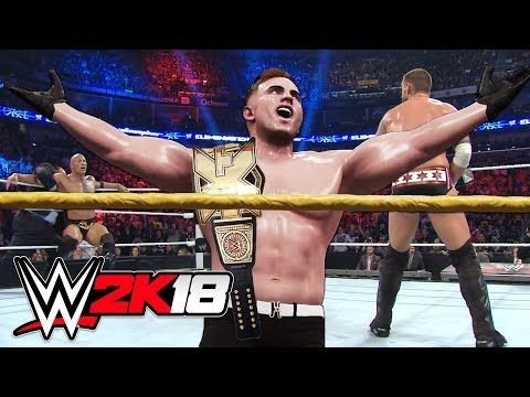 WWE NXT CHAMPION TAKEOVER!! (WWE 2K18 My Career Mode, Episode 2)