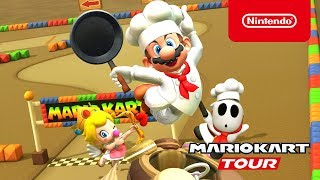 Mario Kart Tour - Cooking Tour Trailer