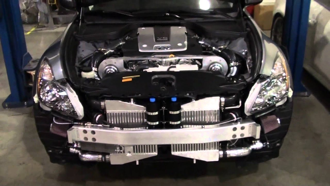 GTM Performance Engineering: VQ37VHR Twin Supercharger System-First  Look-Part 1