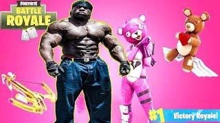 *NEW UPDATE* - #1 BodyBuilder Fortnite Player {✅ SPONSOR GOAL 69/100} | Kali Muscle