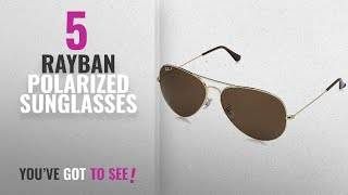 Top 10 Rayban Polarized Sunglasses [2018]: Ray-Ban Polarized Aviator Men