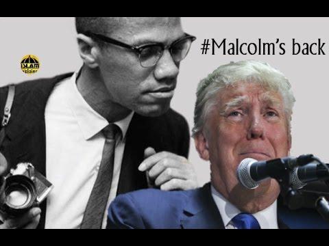 American Politician & Black people - Malcolm X