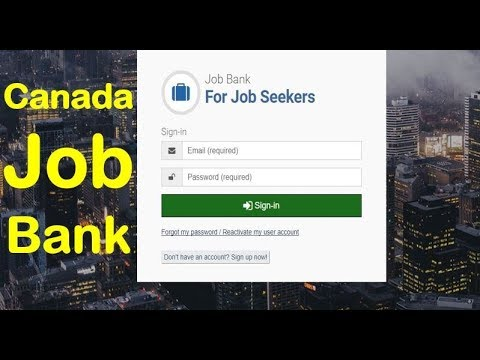 How To Get Job In Canada Using Job Bank Canada | Express Entry Canada