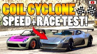 �🤔Richtiger Abfall Oder Einfach Geil? CYCLONE Speed+Race Test!�🤔 [GTA 5 Online Smugglers Run Update]