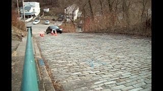 The Steepest Street in the World: Canton Avenue in Pittsburgh. Is your car up for the challenge?
