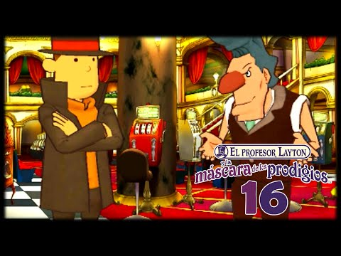 El Profesor Layton y la Máscara de los Prodigios - Cap.16 Alboroto en el Casino