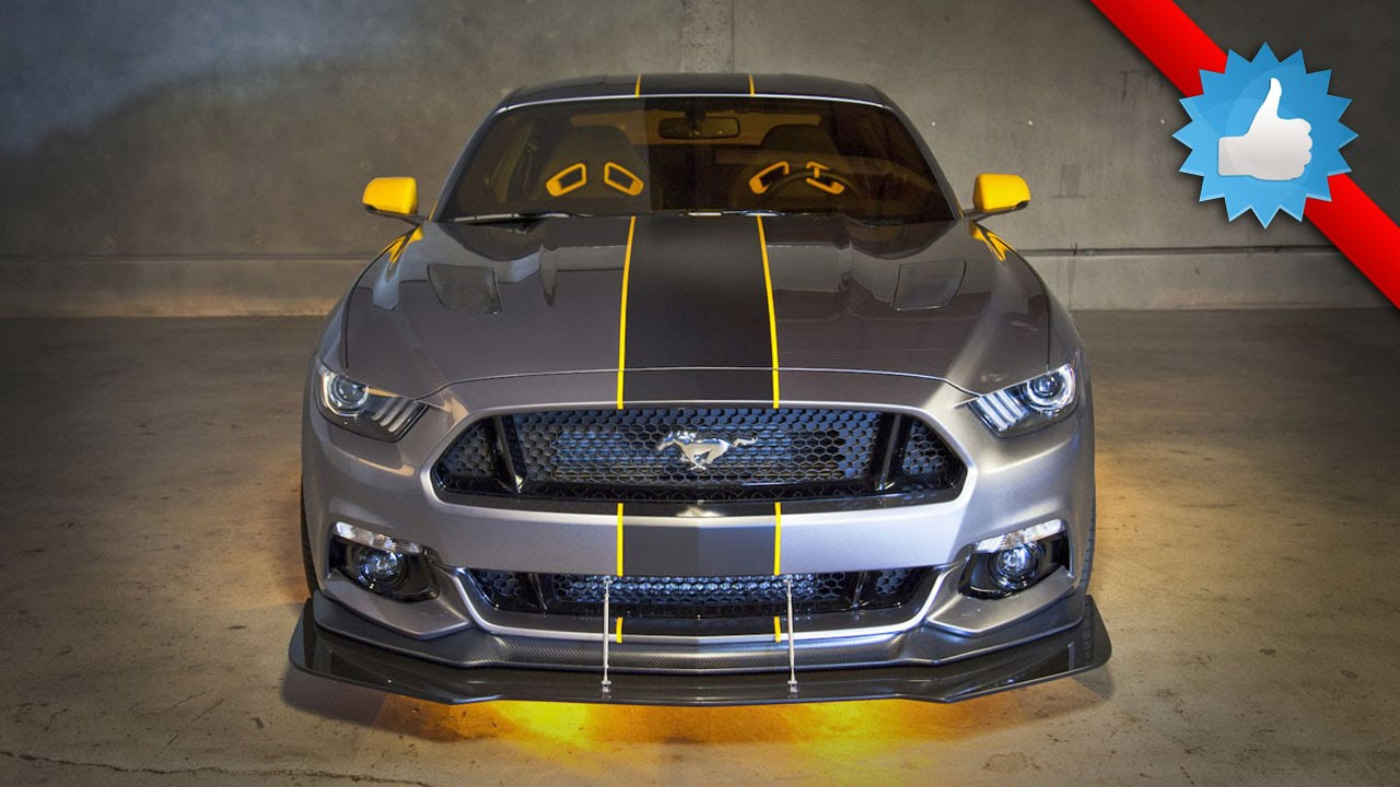 2015 Ford Mustang F-35 Lightning II Edition: Yellow & Blue ...