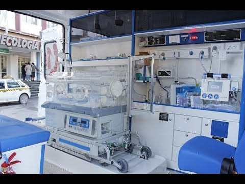 El servicio de traslado de alto riesgo neonatal y obstétrico funciona los 365 días del año