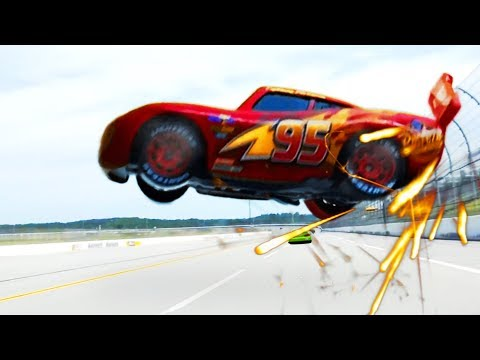 Cars 3 Full McQueen Crash Scene Remake