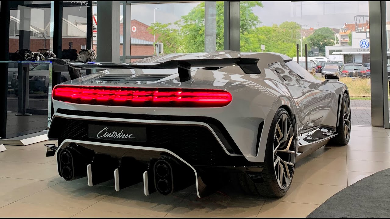 2022 Bugatti Centodieci 8 mln dollar   Driving and Visual Review   Christiano Ronaldo bought one!