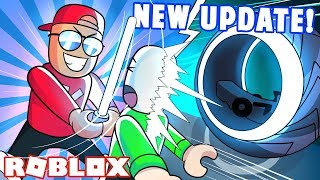Mad City NEUE UPDATE! LAZERBLADE, NIGHT-SABER, LIGHT BIKE, EASTER EGG! | Roblox Mad City