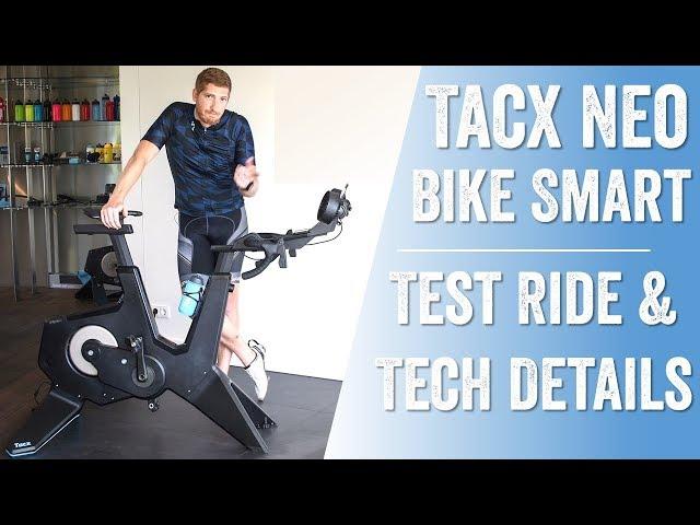 First Ride: Tacx Neo Bike Smart Tech Details!