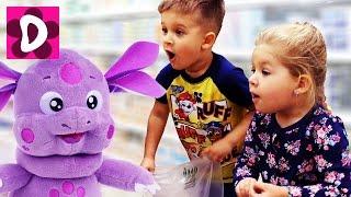 Приставучий Лунтик В МАГАЗИНЕ Купи Меня! Kids Videos Мультики для Детей Лунтик Новые Серии от Дианы