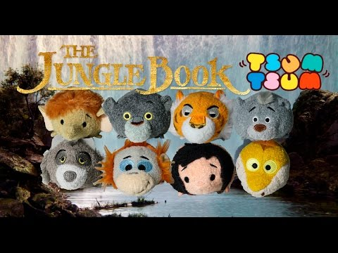 The Jungle Book Tsum Tsum Collection Review Plush Jungle Book Toys