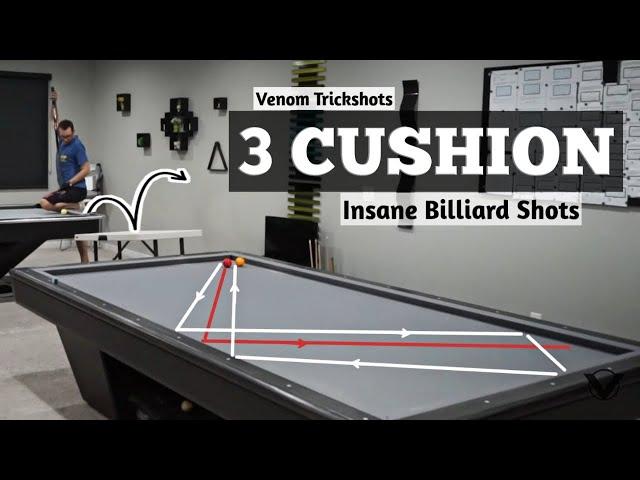 INSANE 3-Cushion Billiards - Masse Edition!!