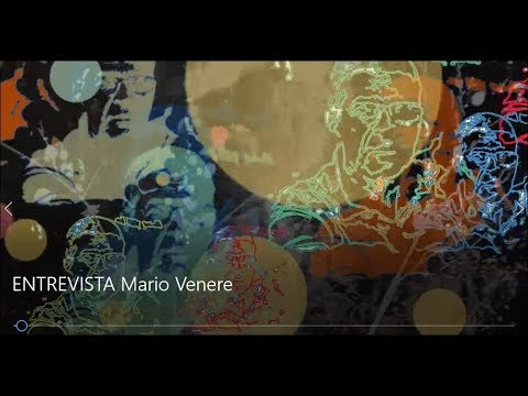 Mário Venere fala de seu processo produtivo e cenários da vida