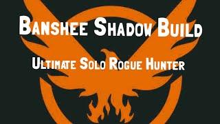 The Division 1.6.1   Banshee Shadow Build   Ultimate Solo Rogue Hunter