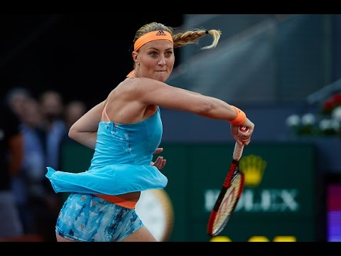 2017 Mutua Madrid Open Semifinals | Kristina Mladenovic vs Svetlana Kuznetsova | WTA Highlights