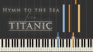 Hymn to the Sea - Titanic | Synthesia Piano Tutorial