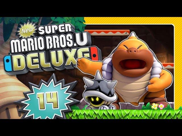 Duell gegen Boss Sumo Bro 🌰 NEW SUPER MARIO BROS. U DELUXE #14