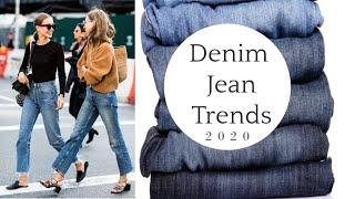 2020 DENIM JEAN TRENDS--Top 10
