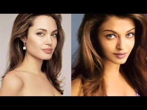 Angelina Jolie VS Aishwarya Rai