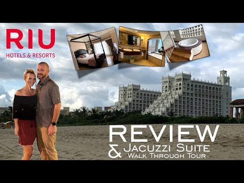 Riu Palace Pacifico Review & Jacuzzi Suite Walk Through Tour •September 2019•