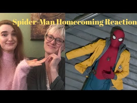 Peter Is Such A Teenage Boy! Spider-man Homecoming REACTION! MCu Film REACTIONS