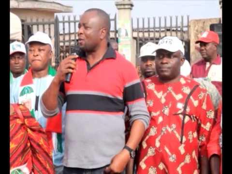 EHIOZUWA JOHNSON AGBONAYINMA VISITS WARDS IN EGOR/IKPOBA OKHA CONSTITUENCY