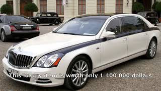 Maybach Landaulet The Most Expensive Business Class Car