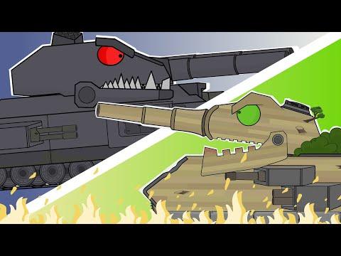 Мультики про танки. RATTE VS ЛЕСНОЙ МОНСТР. LaimenFlash