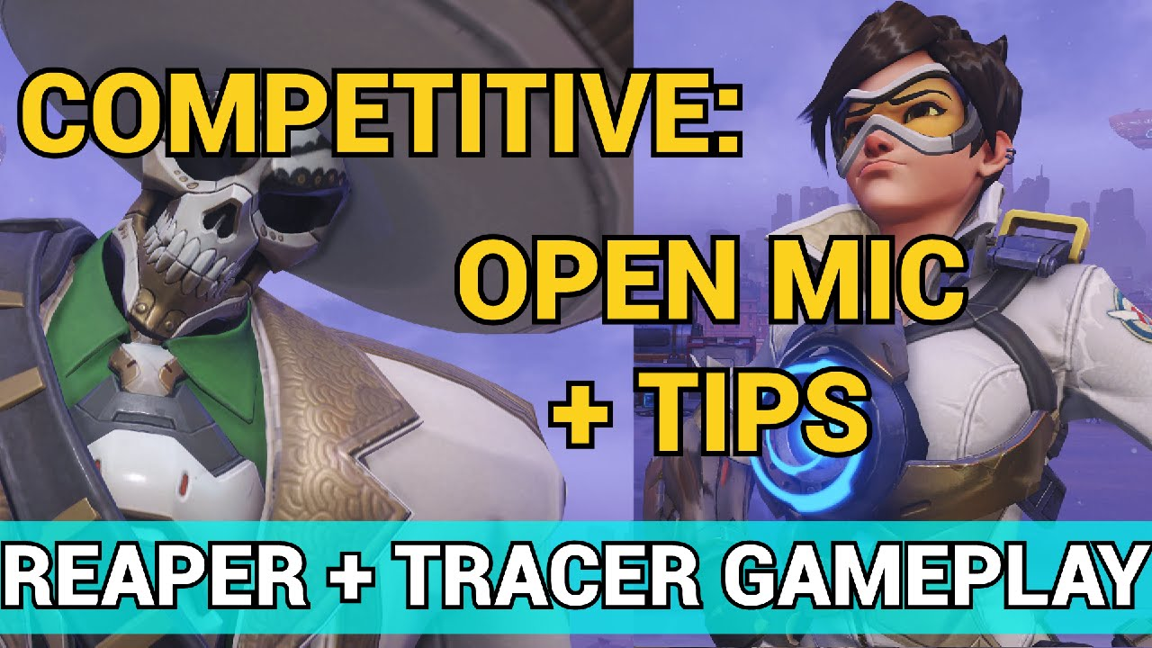 how to use mic in overwatch