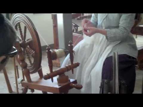 Colonial Williamsburg - Weaving - Part 1