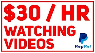Earn $30 Per Hour Just Watching Videos (PayPal Money)
