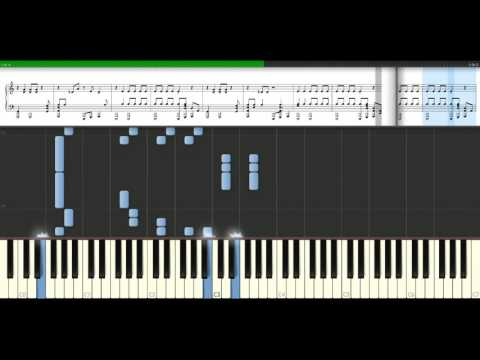 The Black Keys - Lonely boy [Piano Tutorial] Synthesia