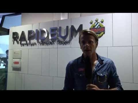 Stefan Schwab beim Rapideum