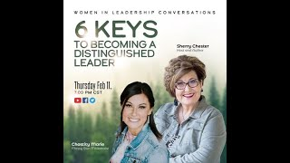 """6 Keys to Leadership: Chastity Marie is interviewed by Sherry Chester, the author of """"Viction"""""""