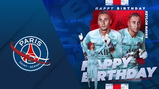 VIDEO: HAPPY BIRTHDAY KEYLOR NAVAS