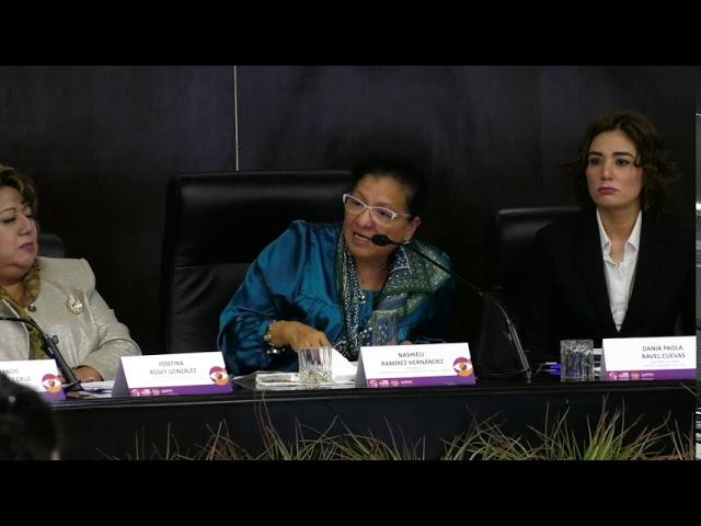 Discurso de Nashieli Ramírez en Reforma Constitucional Paridad