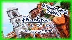 Phantasialand - Öffnungstermin bekannt! Alle Infos & Einschränkungen zum Saisonstart 2020