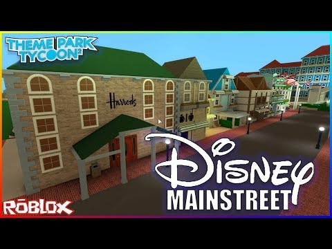 Building Disney Land In Roblox Youtube