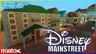 Building Disney Land In ROBLOX !!