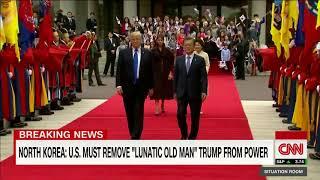 North Korea responds to Trump's personal attack