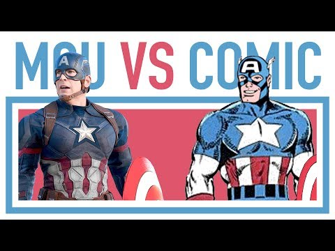 MARVEL COMICS VS MCU CHARACTERS • All comic comparisons #32