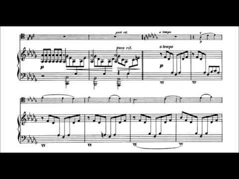 Aleksandr Glazunov - Elegy for cello and piano Op. 17 (audio + sheet music)
