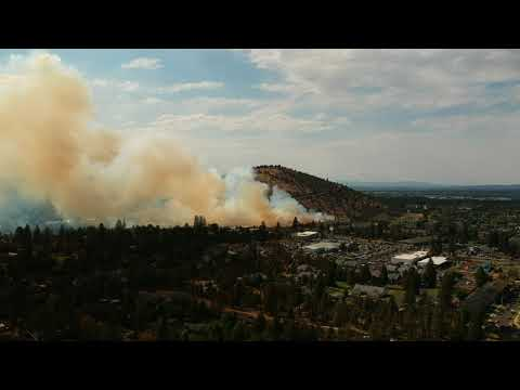 Pilot Butte Fire July 4th 2018