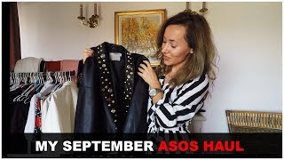 September ASOS HAUL | by Ruxandra Chis