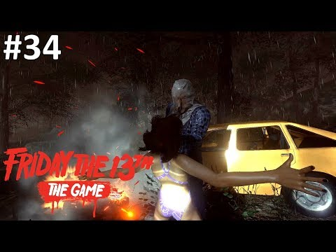 I AM THE BEST KILLER! - Friday the 13th: The Game (Indonesia)
